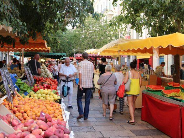toulon marché de provence