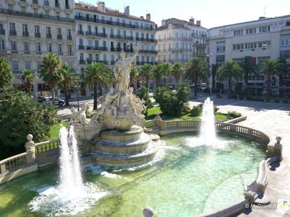 Toulon pas à pas - Place de la Liberté