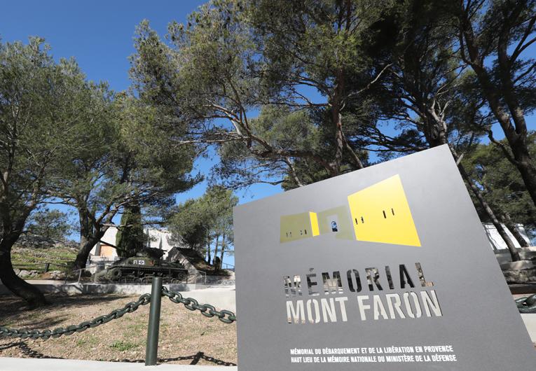 Le Mémorial, site majeur au sommet du Faron à Toulon