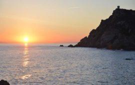 Admirer le coucher de soleil