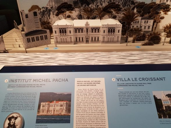 Maquette de l'Institut Michel Pacha
