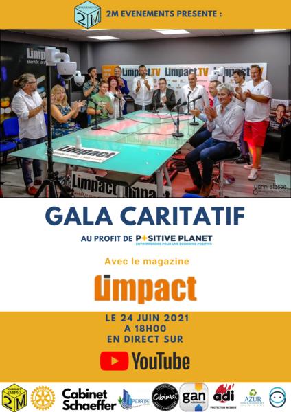 Gala caritatif de Meddy Viardot pour Positiv Planet à La Seyne-sur-Mer - 0