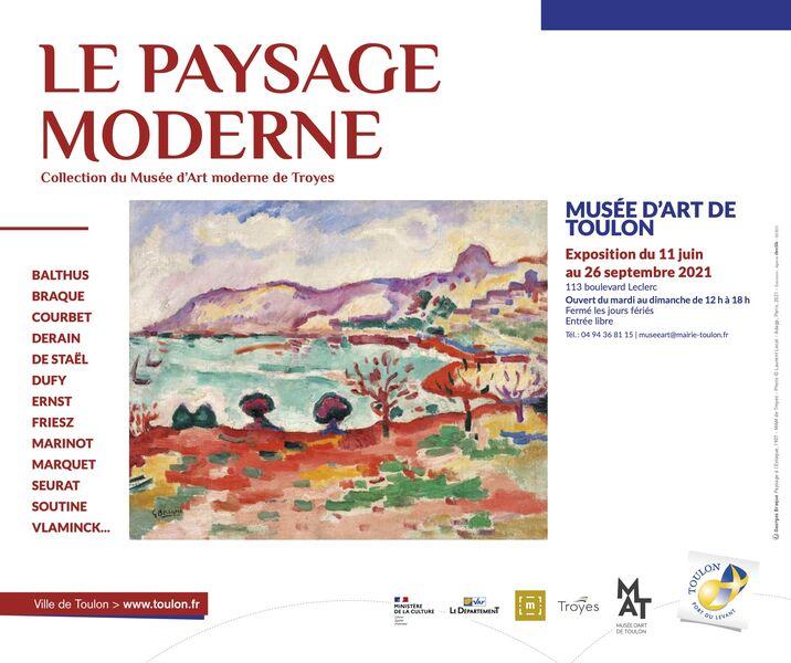 Exposition – Le paysage moderne à Toulon - 0