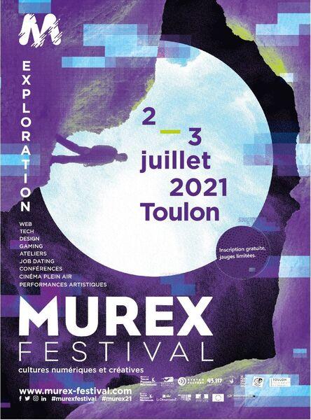 Murex Festival – Cultures numériques et créatives de Toulon à Toulon - 0