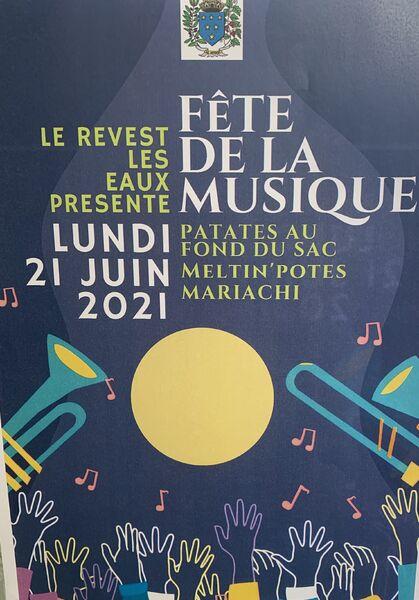 Fête de la musique à Le Revest-les-Eaux - 0
