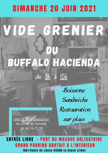 Vide grenier du Buffalo Hacienda à La Seyne-sur-Mer - 0