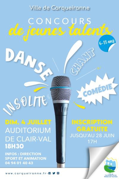 Concours de Jeunes Talents à Carqueiranne - 0