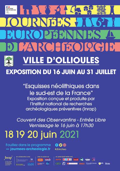 Exposition «Esquisse néolithique dans le sud est de la France» à Ollioules - 0