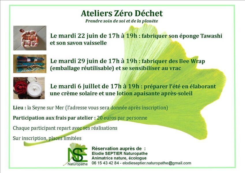 Ateliers Zéro déchet pour adultes à La Seyne-sur-Mer - 0