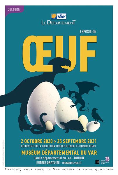 Conférence – Des œufs de dinosaures en Provence à Toulon - 0