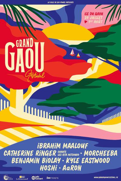 Concert au Gaou : Morcheeba et Aaron à Six-Fours-les-Plages - 0
