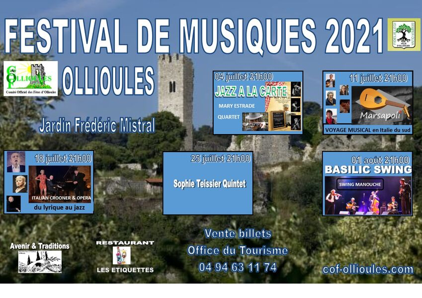 Festival de musique : Basilic Swing à Ollioules - 0