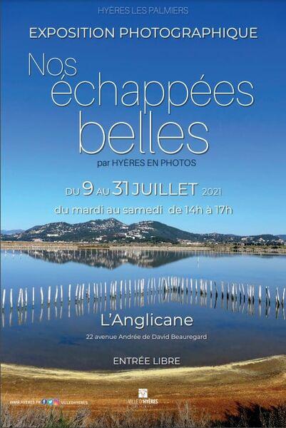 Exposition photo «Nos échappées belles» à l'église Anglicane à Hyères - 0