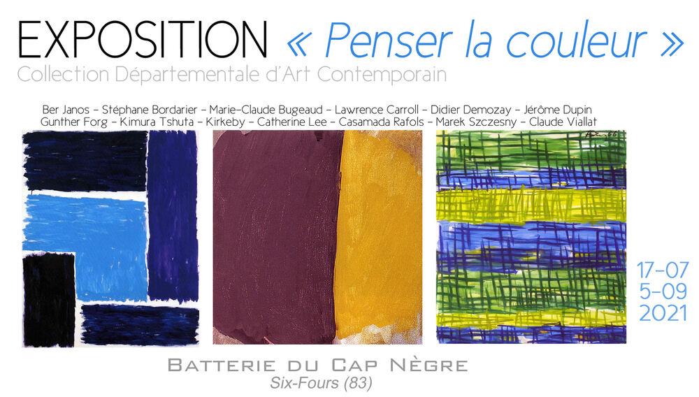 Exposition «Penser la couleur» à Six-Fours-les-Plages - 0