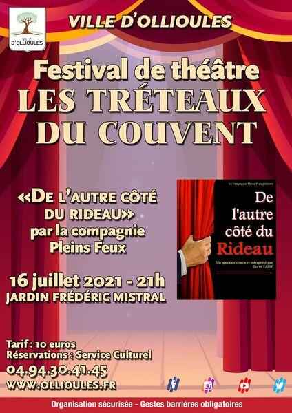 Festival de théâtre «Les Tréteaux du Couvent» à Ollioules - 0
