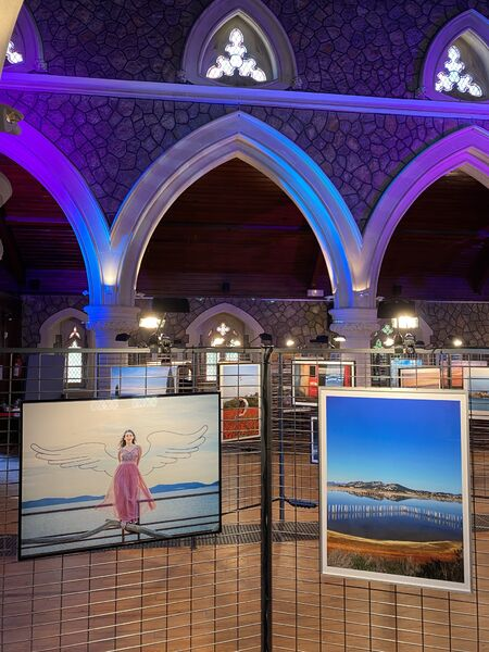 Exposition photo «Nos échappées belles» à l'église Anglicane à Hyères - 2
