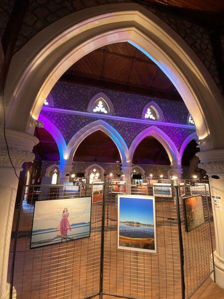 Exposition photo «Nos échappées belles» à l'église Anglicane à Hyères - 3