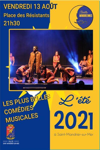 Spectacle «les plus belles comédies musicales» à Saint-Mandrier-sur-Mer - 0