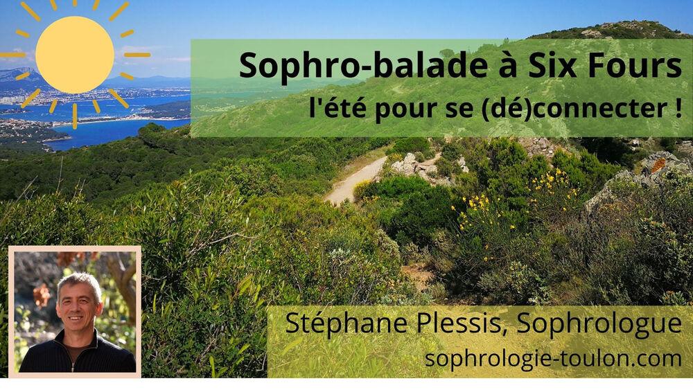 Sophro balade  avec Stéphane Plessis à Six-Fours-les-Plages - 0