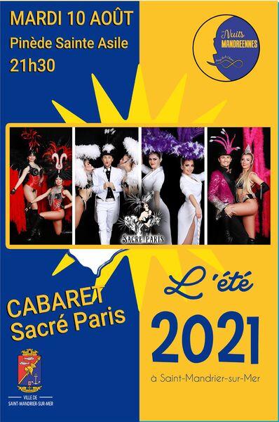 Spectacle cabaret «Sacré Paris» à Saint-Mandrier-sur-Mer - 0