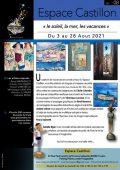Espace Castillon Expo août 2021