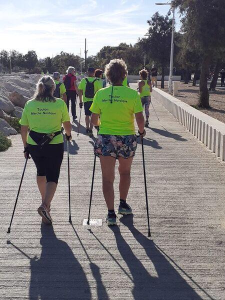 Fête de la marche nordique à Toulon - 1