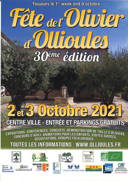 Fête de l'Olivier 30è édition à Ollioules - 0