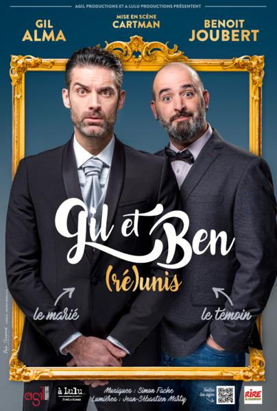 Spectacle «Réunis» avec Gil Alma & Benoît Joubert à Six-Fours-les-Plages - 0