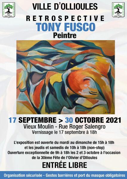 Exposition : rétrospective Tony Fusco, peintre à Ollioules - 0