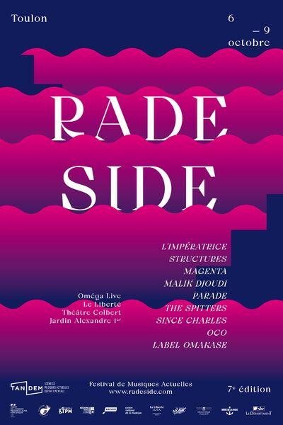 Concert – Structures + Parade + The Spitters – Festival Rade Side à Toulon - 0
