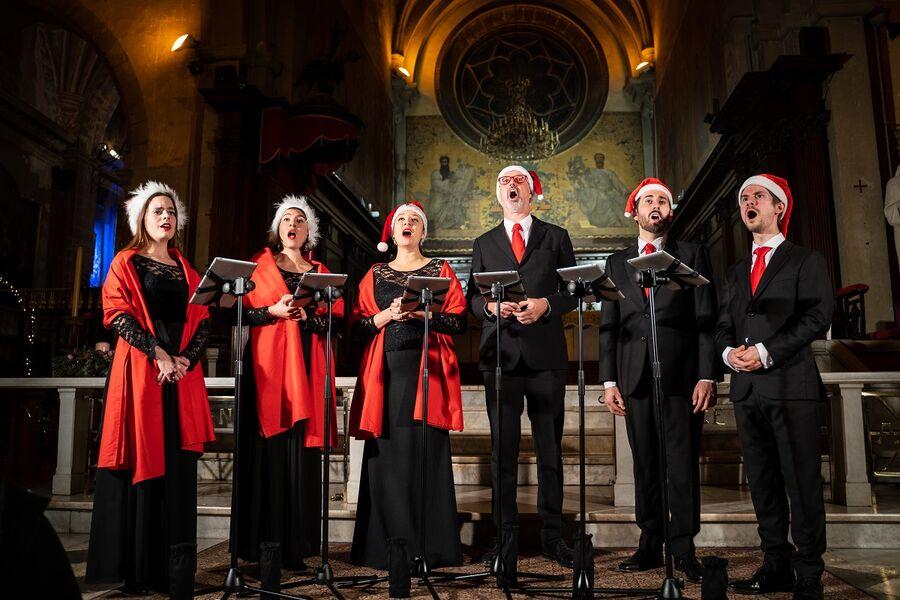 Spectacle  Nouveau Concert de noël des Voix animées à Le Pradet - 0