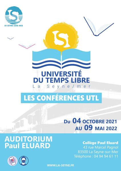 Conférence de l'Université du Temps Libre par Monique Bourguet à La Seyne-sur-Mer - 0