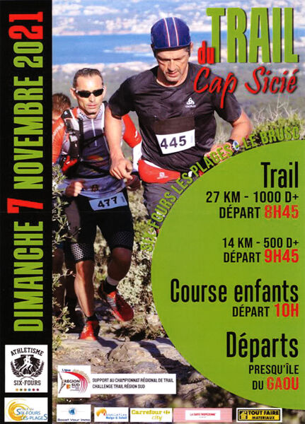 Trail du Cap Sicié à Six-Fours-les-Plages - 0