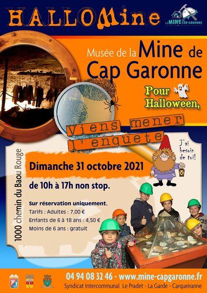 Halloween au Musée de la Mine de Cap Garonne : à Le Pradet - 0