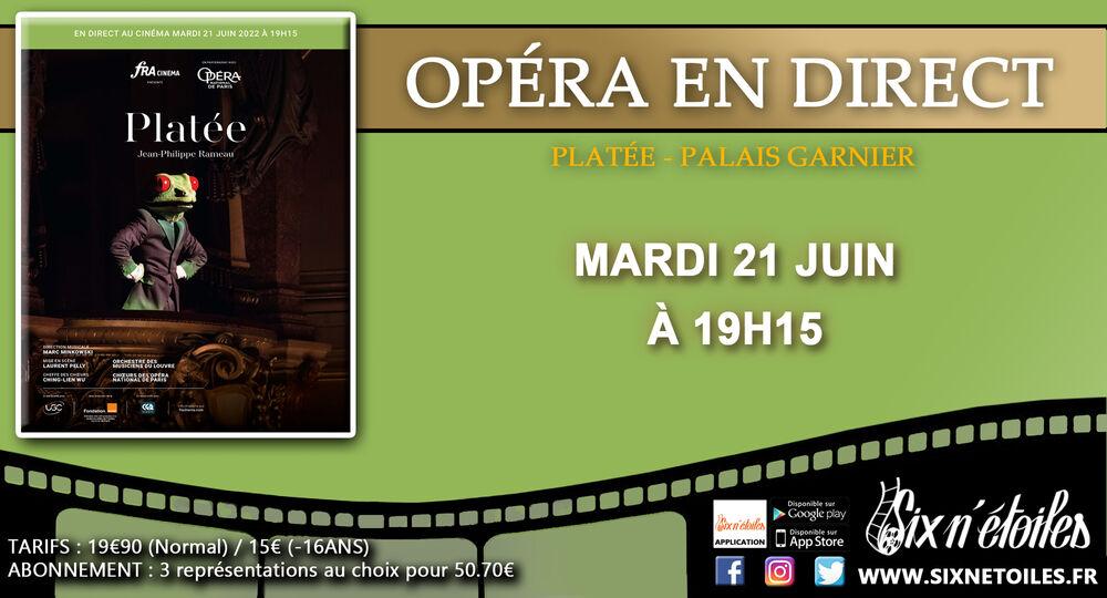 L'Opéra de Paris au Six n'étoiles «Platée» à Six-Fours-les-Plages - 0