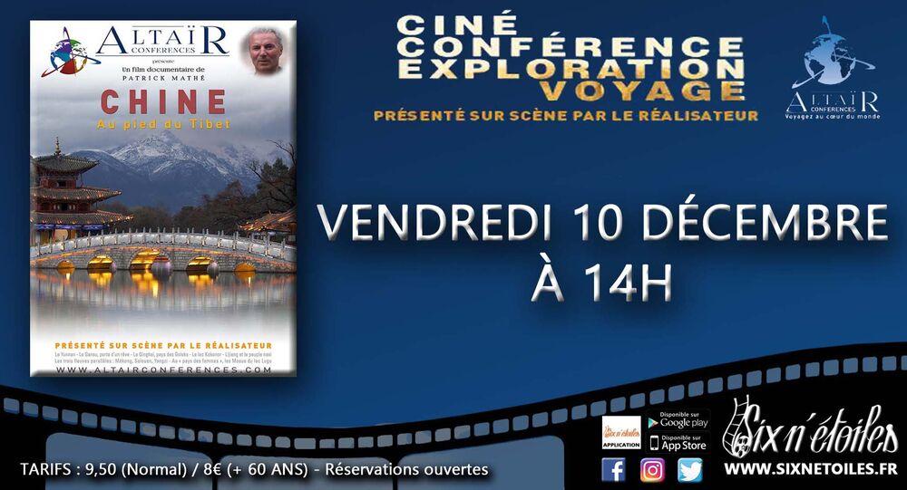 Ciné-conférence Altaïr «Chine, au pied du Tibet» à Six-Fours-les-Plages - 0
