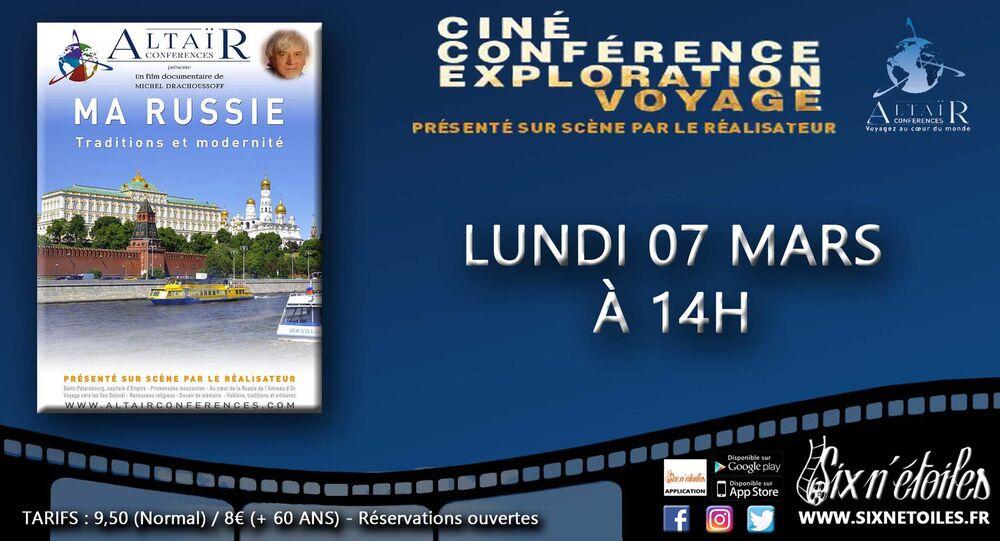 Ciné-conférence Altaïr «Ma Russie – Traditions et modernité» à Six-Fours-les-Plages - 0