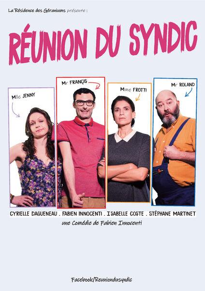 Théâtre – Réunion du Syndic à Toulon - 0