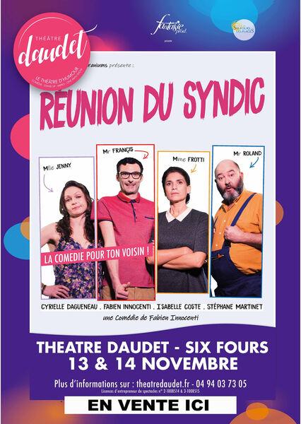 Théâtre «Réunion du Syndic» à Six-Fours-les-Plages - 0