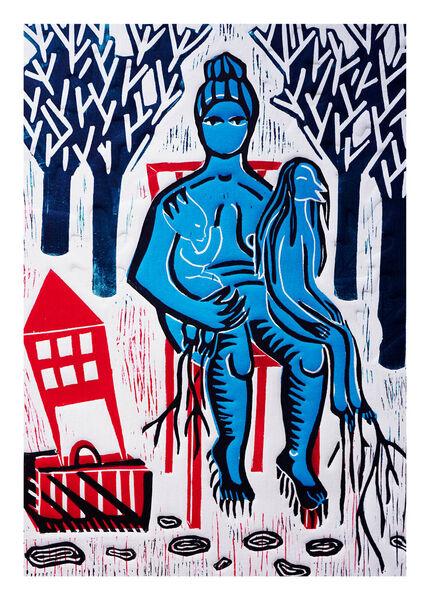 Exposition «Mon empreinte» de Sacha Stoliarova, artiste plasticienne à Ollioules - 0