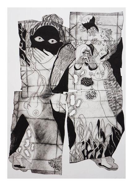 Exposition «Mon empreinte» de Sacha Stoliarova, artiste plasticienne à Ollioules - 1