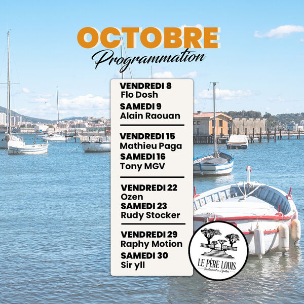 Les soirées d'octobre du Père Louis à La Seyne-sur-Mer - 0