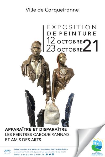 Exposition «Apparaître et disparaître» à Carqueiranne - 0