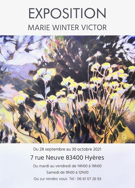 Exposition Peintures de Marie Winter Victor à Hyères - 0