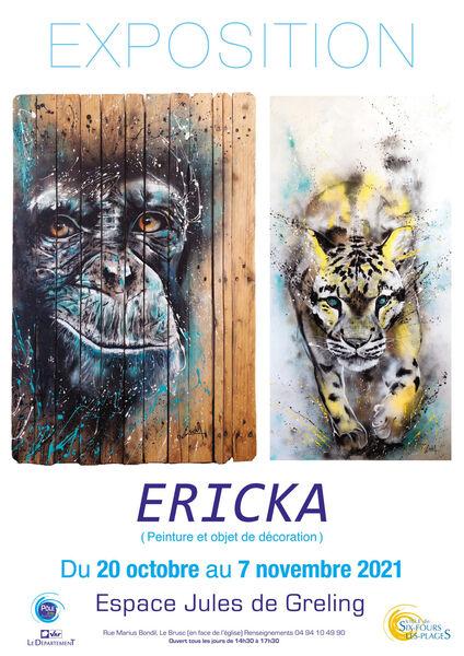 Exposition d'Ericka (Peinture et objet de décoration) à Six-Fours-les-Plages - 0