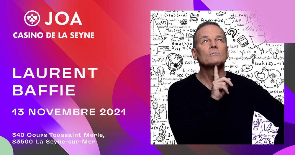 Spectacle «Laurent Baffie se pose des questions» à La Seyne-sur-Mer - 0