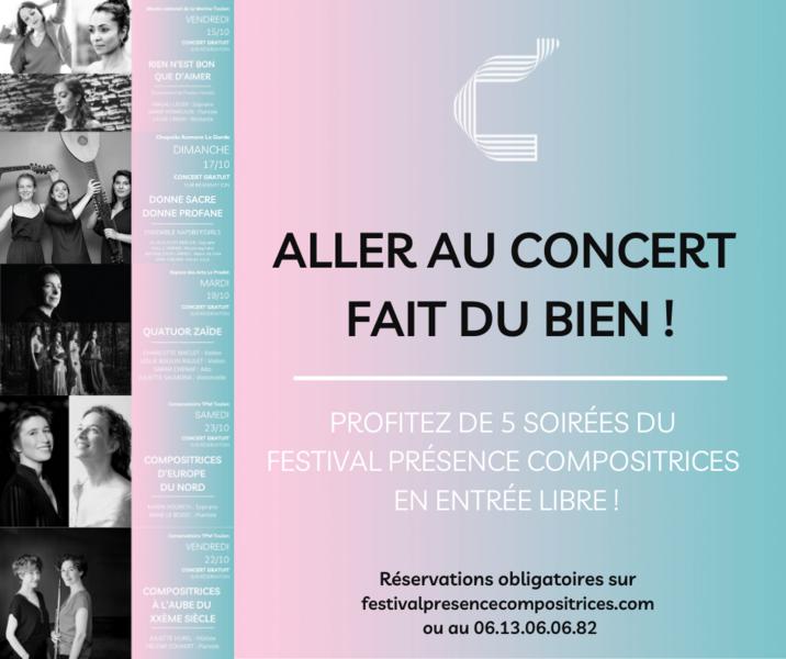 11e Festival Présences Compositrices à Toulon - 0