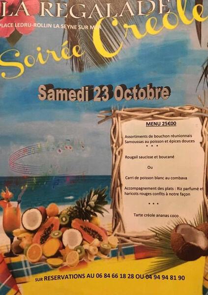 Soirée créole à La Seyne-sur-Mer - 0