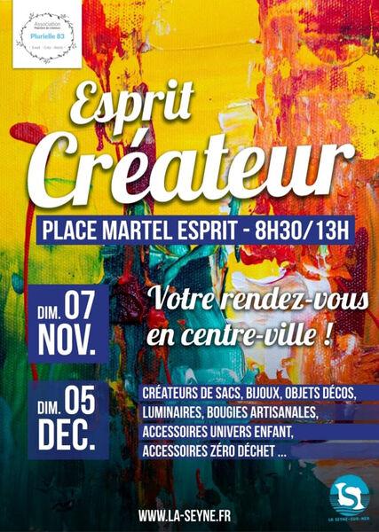 Marché «Esprit Créateur» à La Seyne-sur-Mer - 0