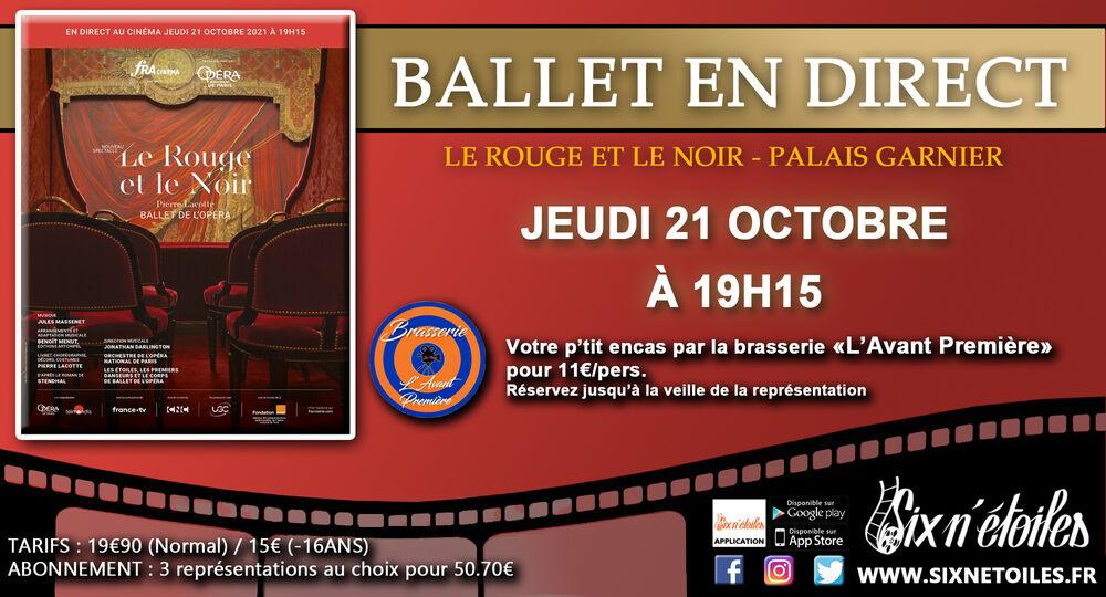 L'Opéra de Paris au Six n'étoiles : «Le Rouge et le Noir» à Six-Fours-les-Plages - 0